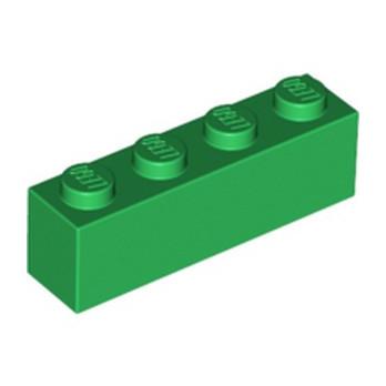 LEGO 4112838 BRICK 1X4 - DARK GREEN
