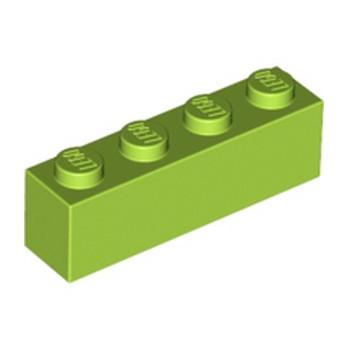 LEGO 4234716 BRICK 1X4 - BRIGHT YELLOWISH GREEN