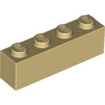 LEGO 4113916 BRICK 1X4 - TAN