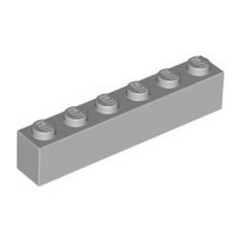 LEGO 4211393 BRICK 1X6 - MEDIUM STONE GREY