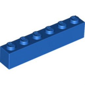 LEGO 300923 BRICK 1X6 - BLUE
