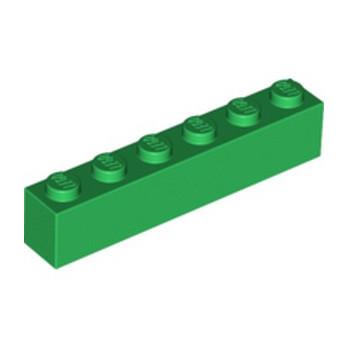 LEGO 4111844 BRICK 1X6 - DARK GREEN