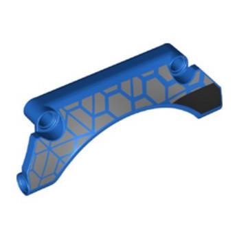 LEGO 6335197 PANEL 3X9X2 PRINTED - BLUE