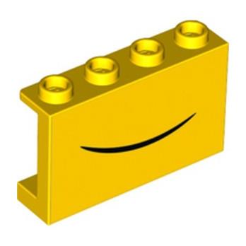 LEGO 6303555 WALL 1X4X2 PRINTED - YELLOW