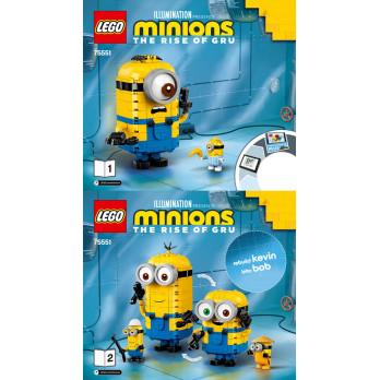 Instructions Lego® Minions 75551