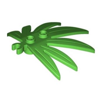 LEGO 6347460 FINGER LEAF - BRIGHT GREEN