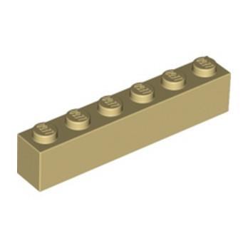 LEGO 4112982 BRICK 1X6 - TAN
