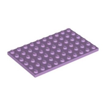 LEGO 6334051 PLATE 6X10 - LAVENDER