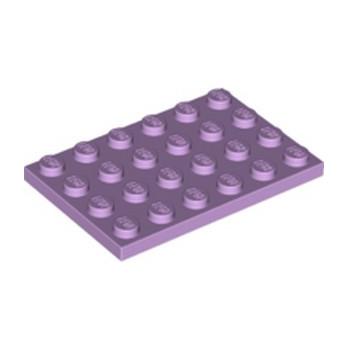 LEGO 6334052 PLATE 4X6 - LAVENDER
