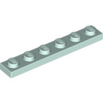 LEGO 6146702 PLATE 1X6 - AQUA