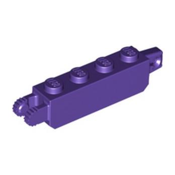 LEGO 6257779 BRICK 1X4 FRIC/STUB/FORK VERT - MEDIUM LILAC