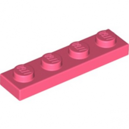 LEGO 6258095 PLATE 1X4 - CORAL