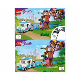 Instructions Lego Friends 41445