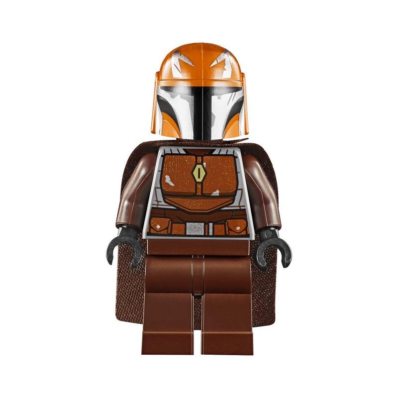 Minifigure LEGO® : Star Wars - Mandalorian warrior - Dark Orange