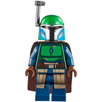 Mini Figurine LEGO® : Star Wars - Guerrier Mandalorien - Dark Green