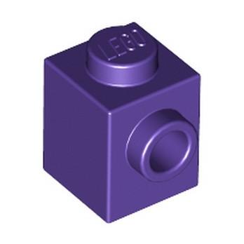 LEGO 6310169 BRICK 1X1 W. 1 KNOB - MEDIUM LILAC
