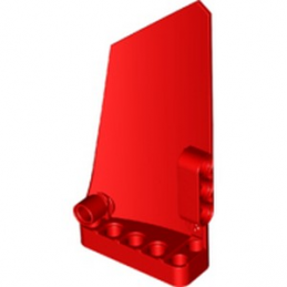 LEGO 6334497 RIGHT PANEL 5X11 - RED