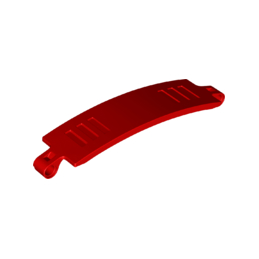 LEGO 6334499 PANEL CURVED 3X13X2 - RED