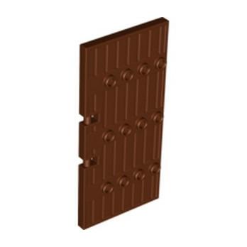 LEGO 6074916 GATE 4X10  - REDDISH BROWN