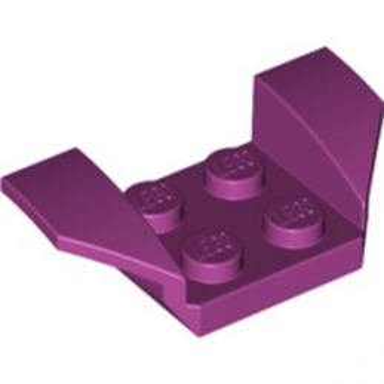 LEGO 6329357 WHEEL ARCH 2X4 - MAGENTA
