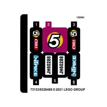 Stickers Lego® City 60288