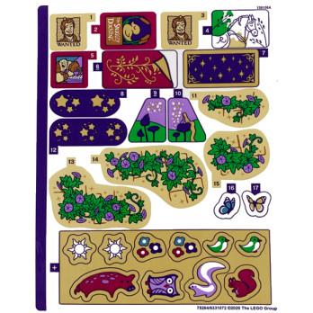 Stickers Lego® Disney Princess - 43187