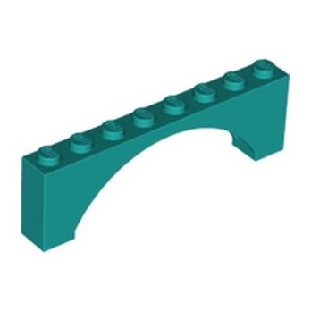 LEGO 6326000 ARCHE 1X8X2 - BRIGHT BLUEGREEN