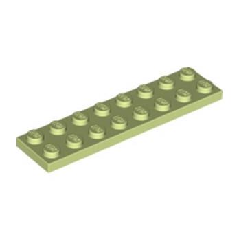 LEGO 6216968 PLATE 2X8 - SPRING YELLOWISH GREEN