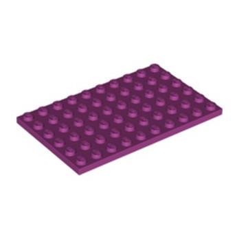 LEGO 6328952 PLATE 6X10 - MAGENTA
