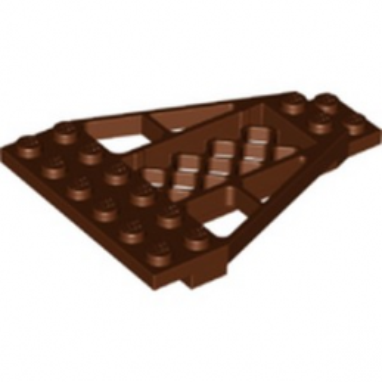 LEGO 6328989 WING PROFILE 6X8X 2/3 - REDDISH BROWN
