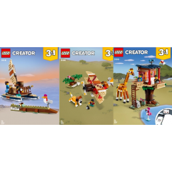 Instructions Lego Creator 31116