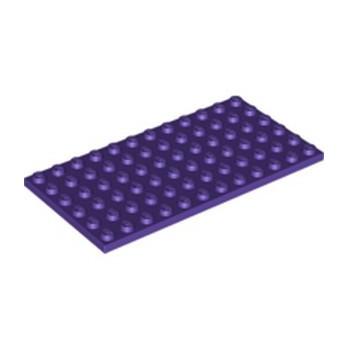 LEGO 6329408 PLATE 6X12 - MEDIUM LILAC