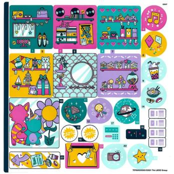 Stickers Lego Friends 41450