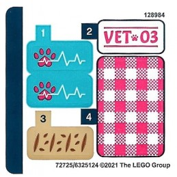 Stickers Lego Friends 41442
