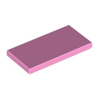 LEGO 6106713 FLAT TILE 2X4 - BRIGHT PINK