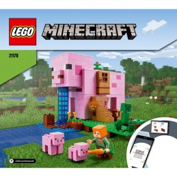 Instructions Lego Minecraft 21170