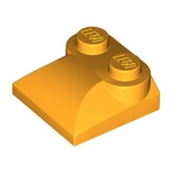 LEGO 6327855 PLATES W. BOWS 2X2 - FLAME YELLOWISH ORANGE