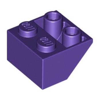 LEGO 6133921 TUILE 2X2/45 INV. - MEDIUM LILAC