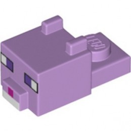 LEGO 6335415 MINECRAFT HEAD DYED CAT