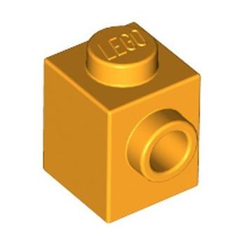LEGO 6092035 BRICK 1X1 W. 1 KNOB - FLAME YELLOWISH ORANGE