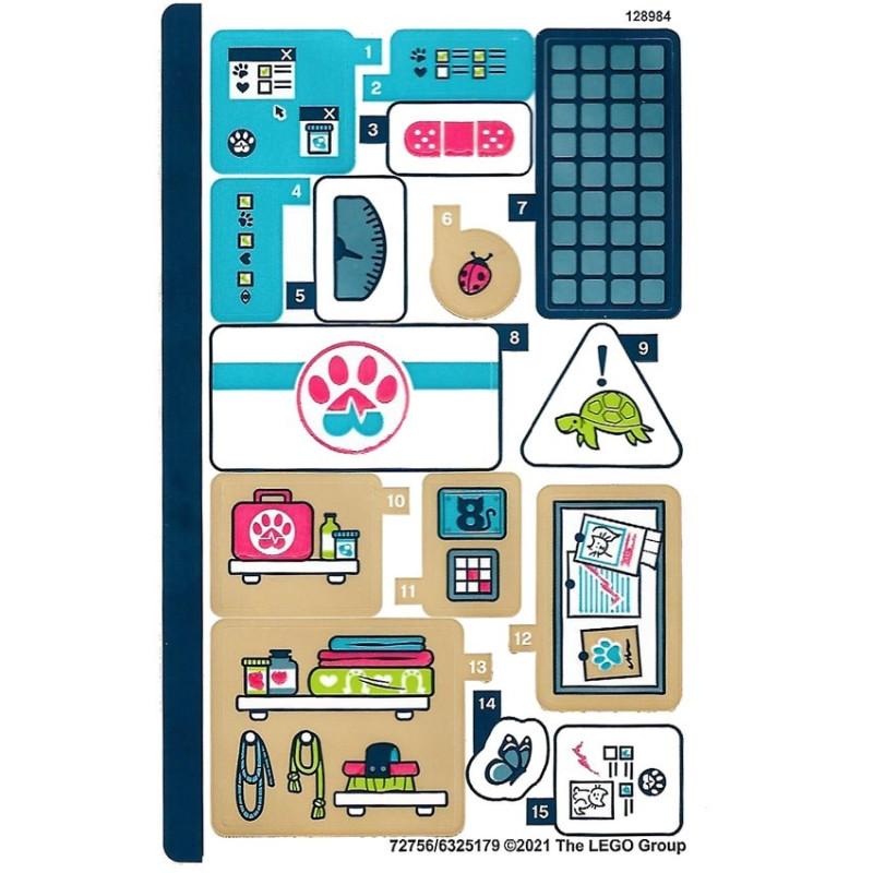 Stickers Lego Friends 41446