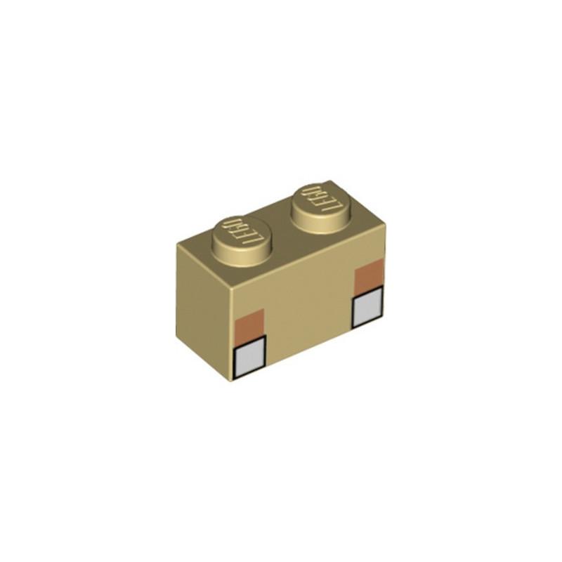 LEGO 6335407 BRICK 1X2 PRINTED MINECRAFT