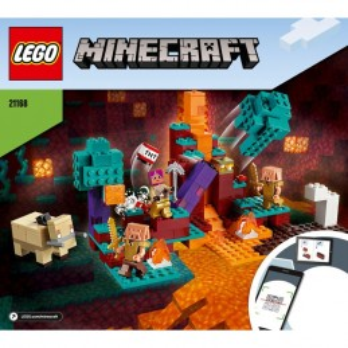 Instructions Lego Minecraft 21168