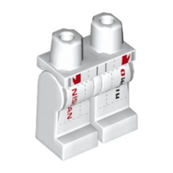 LEGO 6292555 PRINTED LEGS - WHITE