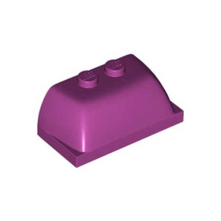 LEGO 6333352 TOP SHELL 2X4X1 1/3 - MAGENTA