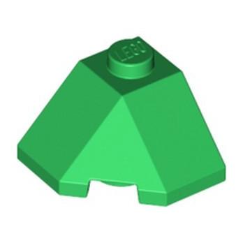 LEGO 6297286 ROOF TILE 2X2X1 45° - DARK GREEN