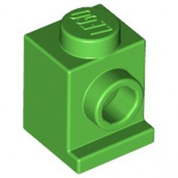 LEGO 6314376 ANGULAR BRICK 1X1 - BRIGHT GREEN