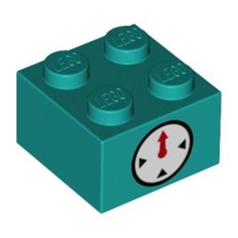 LEGO 6309017 BRICK 2X2, PRINTED SUPER MARIO