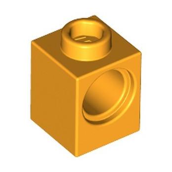 LEGO 6318085 TECHNIC BRICK 1X1 - FLAME YELLOWISH ORANGE