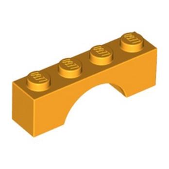LEGO 6071607 BRICK W. BOW 1X4 - FLAME YELLOWISH ORANGE